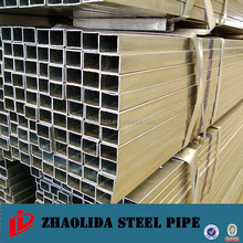 Pre-Gi Rectangular Hollow Section Steel Tube made in Tianjin Factory