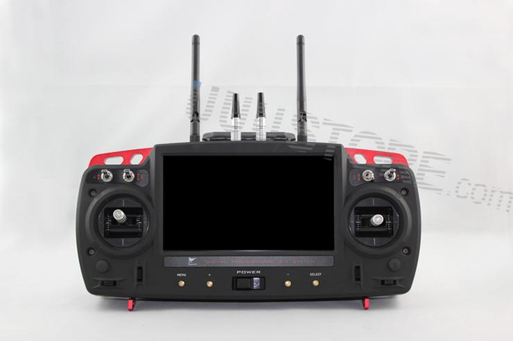 Skylark 7 inch Screen 12CH  Radio Control System Transmitter 5.8GHz / 2.4GHz for  FPV (include Trace OSD)
