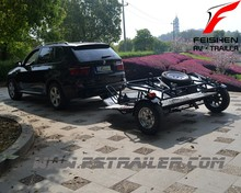 Double bikes folding style Trailer MT502 for motorcycle