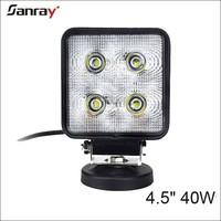 4 inch 40w waterproof spot beam hot sale working light for SUV/ATV/UTV/Jeep