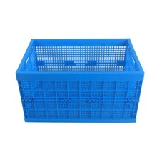 Fruit vegetable collapsible plastic totes