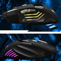 6Keys USB Wired Optical Computer Gaming Mouse 5500 DPI 6D Game Mice For Desktop Laptop