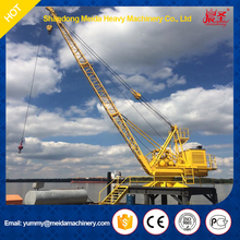meida brand 220m steel cable roof crane, used derrick crane for sale