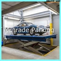 portable hydraulic scissor mechanical car lift