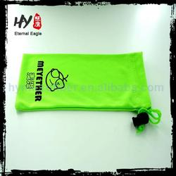 Personalized glasses case pouch, wholesale microfiber glasses pouch, custom design microfiber pouch