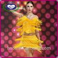 fabricante de china exportan sexy de la moda borla de lentejuelas de baile de disfraces