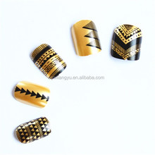 Europe Style Luxury Color Matching Fashion Women Plastic Artificial Nail Tip