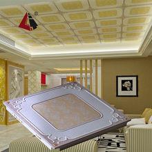 LTL43 Artistic aluminum ceiling tiles types of suspended ceiling