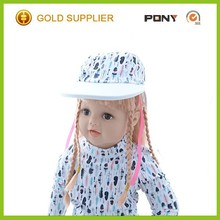 Hot Selling Baby Sun Hat Pattern Baby Wide Brim Sun Visor Hat