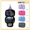 2014 el nuevo diseño de avon de viaje plegable colgar la bolsa de cosméticos, gancho para colgar la bolsa