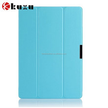 Top quality PC leather case for ipad 6