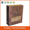 Folding Paper Wine Box With Magnic Closure