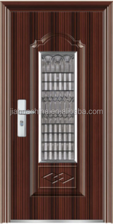 Cheap exterior security front entry steel steel doors for for Steel front doors for sale
