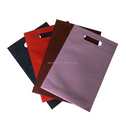 customized full automatic die cut handle non woven carry bag