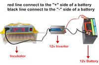 2014 solar power mini egg incubator/hatcher with battery hot in uk (capicity 48 eggs)