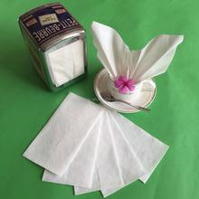 white N fold 1ply 17x34cm paper napkin dispenser tissue paper with 100% virgin