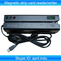 MSR605 hico and loco Magnetic strip card reader and writer