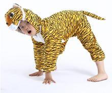 los niños tigre disfraces de animales