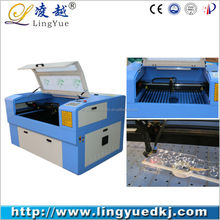 plastic paper wood leather die board laser cutting machine for sale