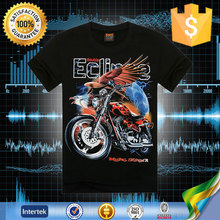 The world's highest discount v shape brand name factory print tshirt