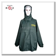 raincoat factory OEM top grade waterproof jackets with trousers