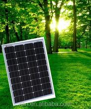 High quality low price perfect service Chinese Ningbo Electronics Co.,Ltd 18V 80W mono solar panel