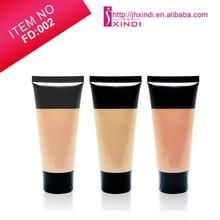private label liquid form foundation soft tube whitening concealer bronzer foudation