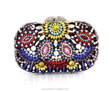 Crystal Evening clutch Bag Stones Clutch Bag Chain Handbag clutch Shoulder Bag