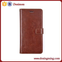 Album flip stand wallet style leather case cover for iphone 6 plus