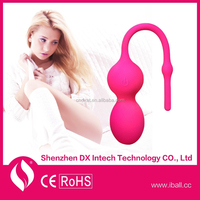 Alibaba Express Virgin Trainer Sex products Kegel Exercise Vaginal Bead Iball Used Sex Toys for Sale