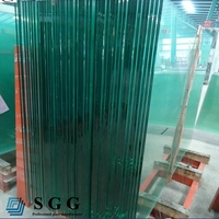 high quality large clear glass panel sizes