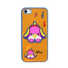 the music dog silicone cell phone case with storage