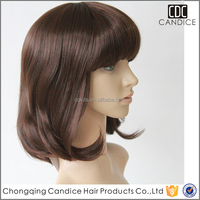 wholesale cheap short straight synthetic party bob style wig