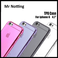 hot selling cheap mobile phone case for apple iphone 6 silicon cell phone clear case for iphone 6p