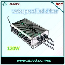 Outdoor waterproof led power supply 12v led driver 350ma 120W led driver
