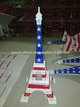 El regalo de la promocion Metal artesania Paris Torre Eiffel modelo