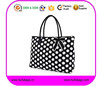 polka dot printed quilted Tote bags for high school girls from China