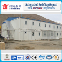 20ft prefab dormitory container for university students