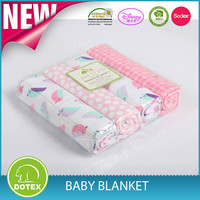 Best Quality High End China Made Baby Blanket baby wrap muslin swaddle blanket