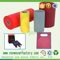 Any color can do non-woven bag, simple and durable bag