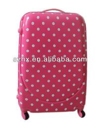 PC fashion design hardshell trolley luggage set