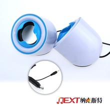 cheapest hot-selling mini USB speaker use for home,car,office all with 3.5mm audio interface device