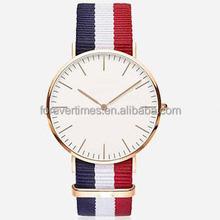 New fashion lady super thin Good Quality Waterproof Watch Design Your Own Logo slim DW Watch