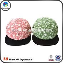 personalizado 5 paneles sombrero floral 5 sombreros panel