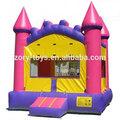 2015 novo design atacado moda infantil inflável castelo