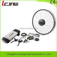 Brushless Design 36v 250w/350w e bike electric bicycle conversion kit with 36v 10ah lithium battery,waterproof kit