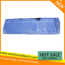 "Customized Silicone/Rubber ""Blue Computer Keyboard"""