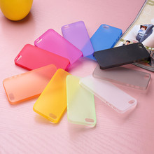 0.3mm ultra thin PP soft matt phone case for iphone 5 5s back cover case