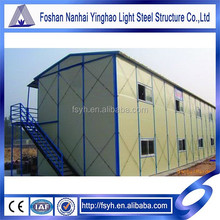 slope roof k stype prefabricated house China K house for living for office