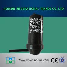 axial capacitor polarity